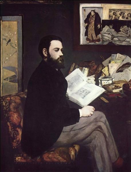À quel peintre doit-on le portrait d'Émile Zola qui se trouve au musée du Louvre ?