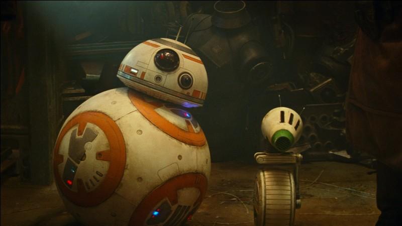 Comment s'appelle le nouveau droïde, compagnon de BB-8 ?