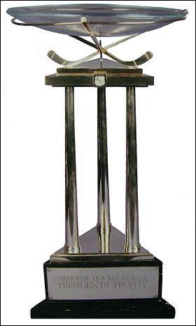 Quel est ce trophée ? Il est remis à l'équipe championne de la saison régulière.