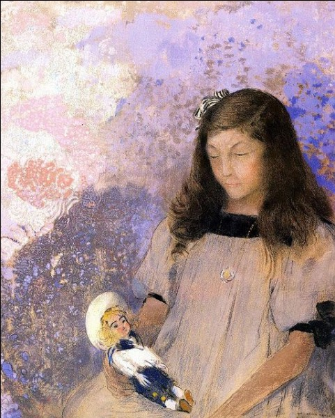 Qui a représentée Suzanne Fayet sur cette toile ?