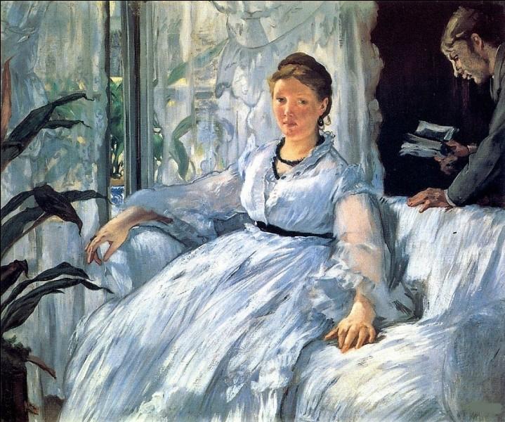Cette toile connue représente Suzanne et son fils Léon, qui l'a réalisée ?