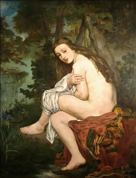 """Sur cette toile voici """"Suzanne, la nymphe surprise"""". Qui est son peintre ?"""