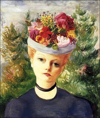 """Qui a fait le """"Portrait de madame Suzanne au chapeau fleuri"""" ?"""