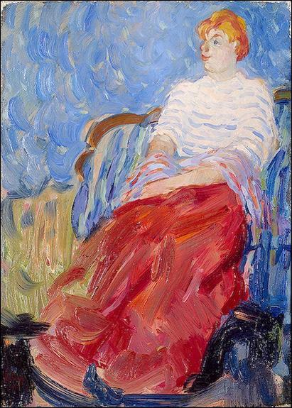 Voici un portrait de Suzanne, par le peintre :