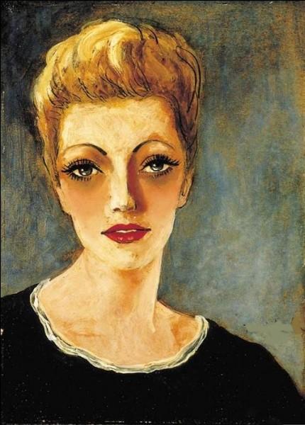 """On termine avec ce """"Portrait de Suzanne"""" du peintre :"""