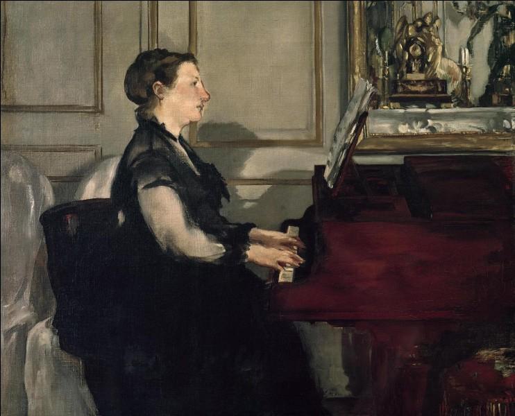 Suzanne est au piano, qui est son peintre ?