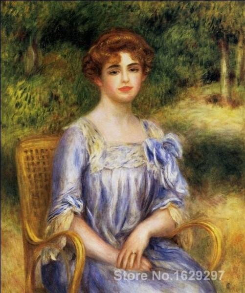 Qui a peint Madame Gaston Bernheim-de-Villers née Suzanne Adler ?