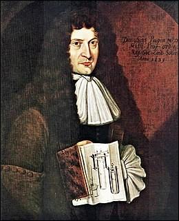 En 1690, dans quel domaine Denis Papin a-t-il apporté sa pierre à l'édifice ?