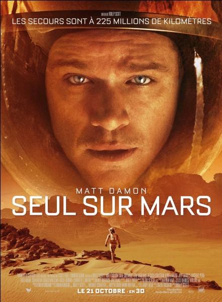 """Dans """"Seul sur Mars"""", qui joue le rôle de Mark Watney ?"""