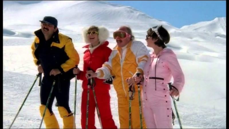 """Dans """"Les Bronzé font du ski"""", que se passe-t-il quand Jean-Claude prend le télésiège ?"""