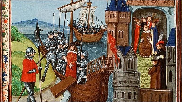 Qui fut sacré roi de France à Notre-Dame de Paris !