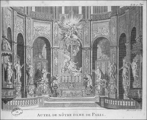 Durant la Révolution Française Notre-Dame de Paris devient un temple païen !