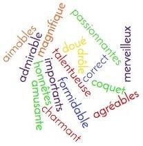 Retrouvez le sens de ces adjectifs