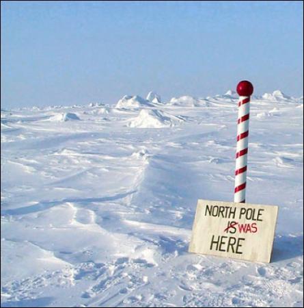 Le continent Arctique est une immense terre recouverte de glace située à l'extrême nord du globe terrestre.