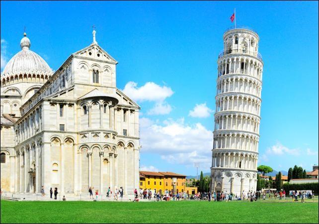 Dans quelle ville italienne pouvez-vous voir ce monument penché ?