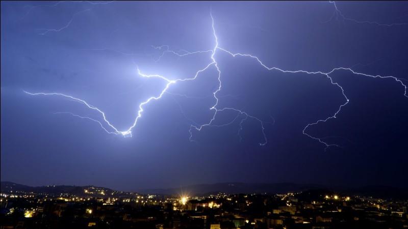 As-tu peur des orages ?