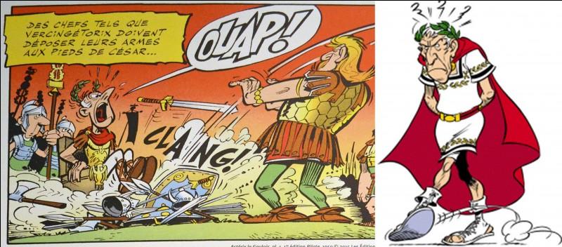 C'est le « grand méchant » de la BD ! Malgré tout, parfois, il saura se rendre reconnaissant vis-à-vis des deux héros ! Cela ne l'empêchera pas de leur faire de vilains mauvais tours. On peut dire, aussi, que nos deux héros sauront lui offrir une retraite bien méritée.Il apparaît entre autres dans « Les 12 travaux d'Astérix » (dessin animé) sous le nom de… eh bien je ne vous le dirais pas !Qui est-il ?