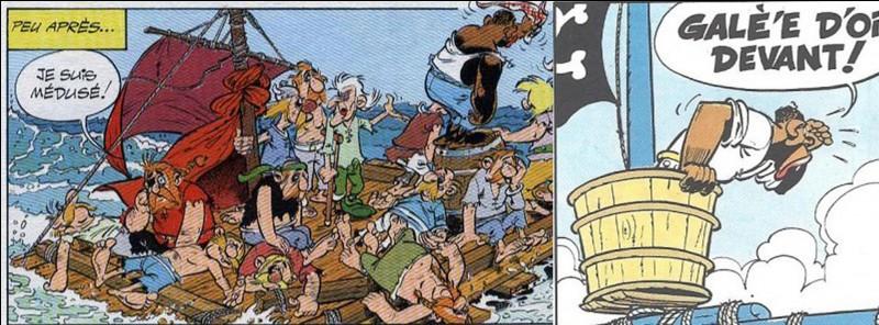 On le voit dès le 4e album des aventures d'Astérix mais il ne sera nommé que dans « La galère d'Obélix ». Ses rencontres avec nos deux héros se terminent mal pour lui et ses comparses. Il ne prononce pas une « ce'taine » consonne. On découvrira qu'il a le « 'ythme dans la peau » !Dans la version anglaise, il porte le nom de « Pirate Lookout ».Qui est-il ?