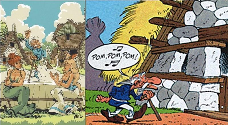 60e Anniversaire de la BD Astérix, quelques personnages !