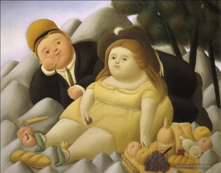 """Qui a peint """"Pique-nique dans les montagnes"""" ?"""