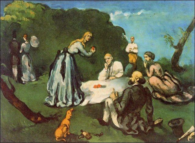 """Qui a peint """"Le déjeuner sur l'herbe"""" ?"""