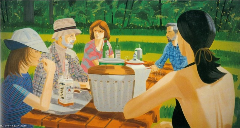 """Qui a peint """"Pique-nique d'été"""" ?"""