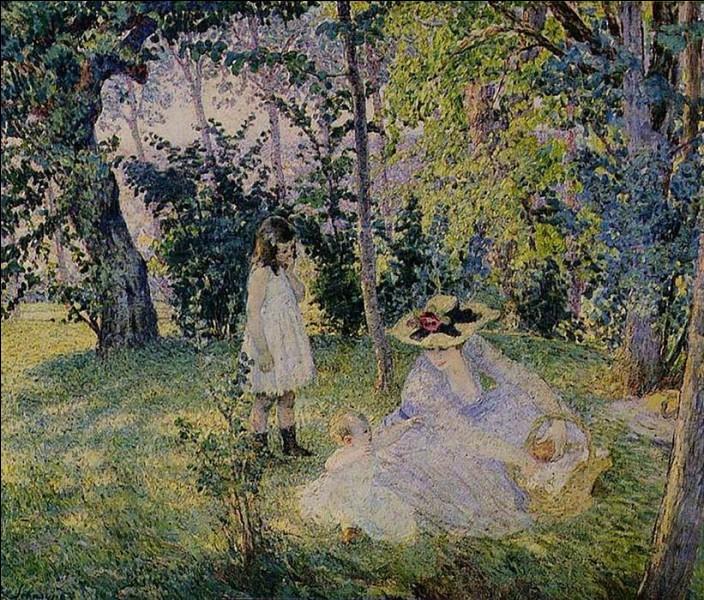 """Qui a peint """"Pique-nique dans les bois"""" ?"""