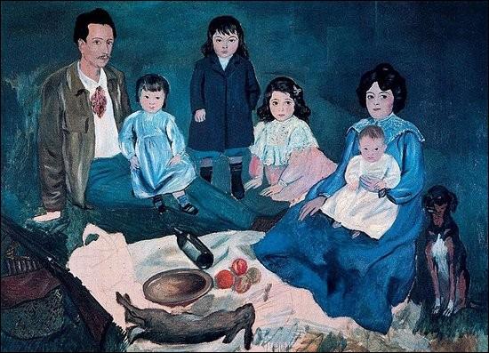 """Qui a peint """"Le déjeuner sur l'herbe de la famille Soler"""" ?"""