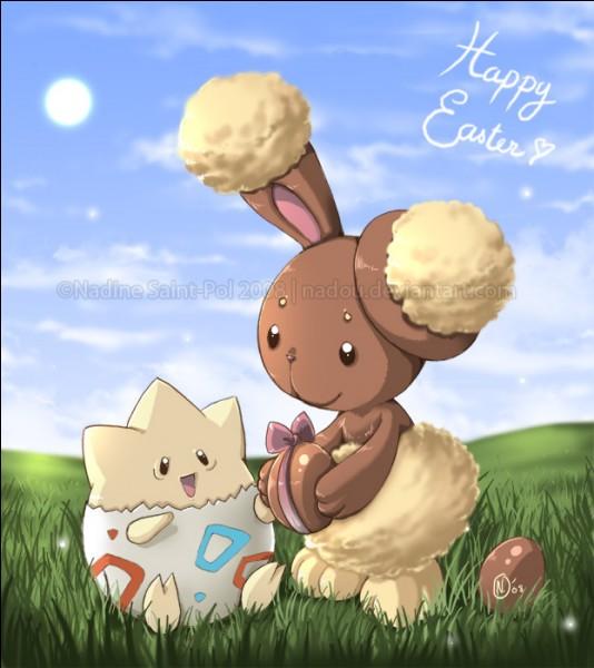 On termine avec deux adorables Pokémon. Quel est le nom du lapin ?