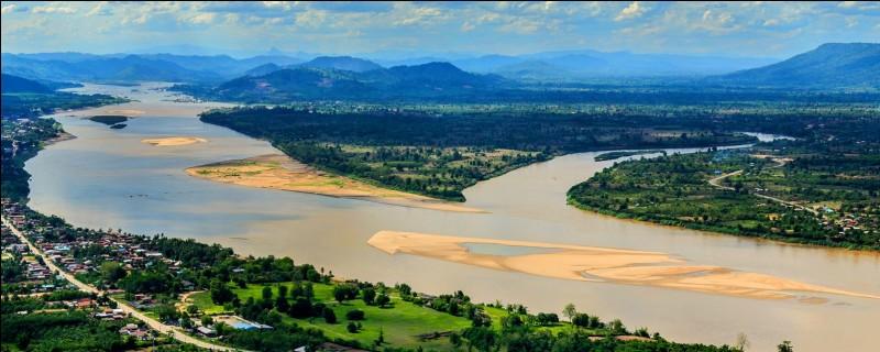 """Le grand fleuve de 4300 km qui traverse le Laos et la Cambodge puis prolonge son delta dans le sud du Vietnam où il est appelé traditionnellement le """"fleuve des neuf dragons"""", c'est ..."""