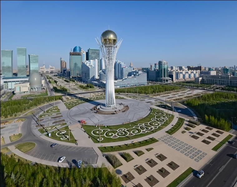 Astana est la capitale de quel pays ?