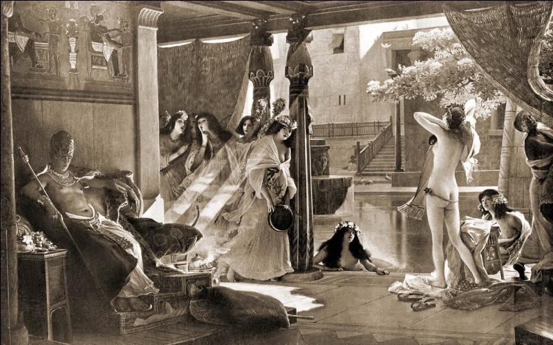 Roi de la diplomatie, ce pharaon n'avait pas moins de 356 femmes étrangères dans son harem royal. Qui est-il ?