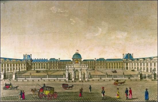 Cet ancien palais parisien, construit au XVIe siècle, résidence de nombreux souverains, pris d'assaut par les Sans-culotte le 10 août 1792, a été incendié en mai 1871 par les Communards ; ses ruines ont été abattues en 1883. De quel palais s'agit-il ?