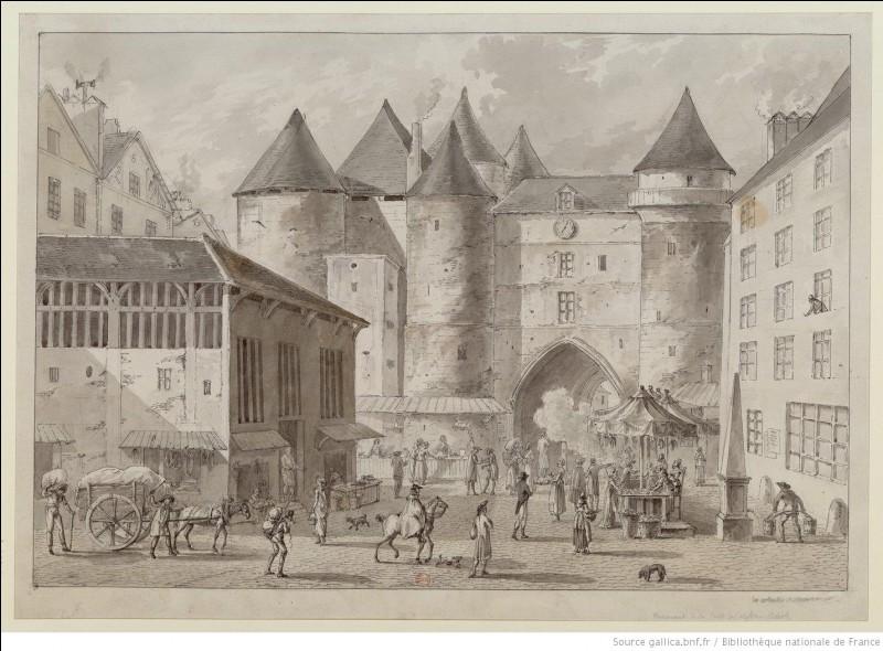 Cette forteresse avait été édifiée par Louis VI à Paris, sur la rive droite de la Seine pour protéger l'accès au Grand Pont. Ensuite utilisée comme prison, elle a été démolie au début du XIXe siècle en raison de sa vétusté. De quel édifice s'agit-il ?