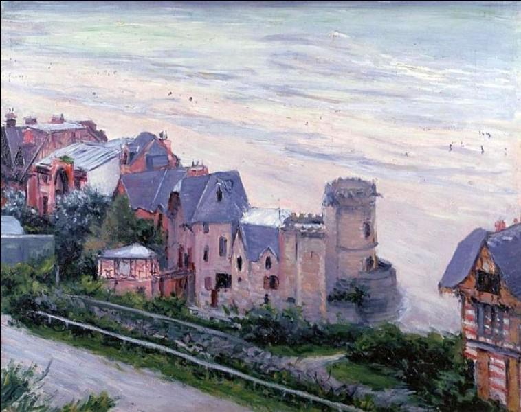 """Qui est le peintre des """"Villas à Trouville"""" ?"""