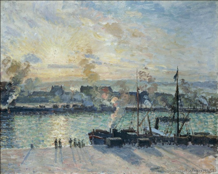 """À qui doit-on """"Le Port de Rouen"""" ?"""