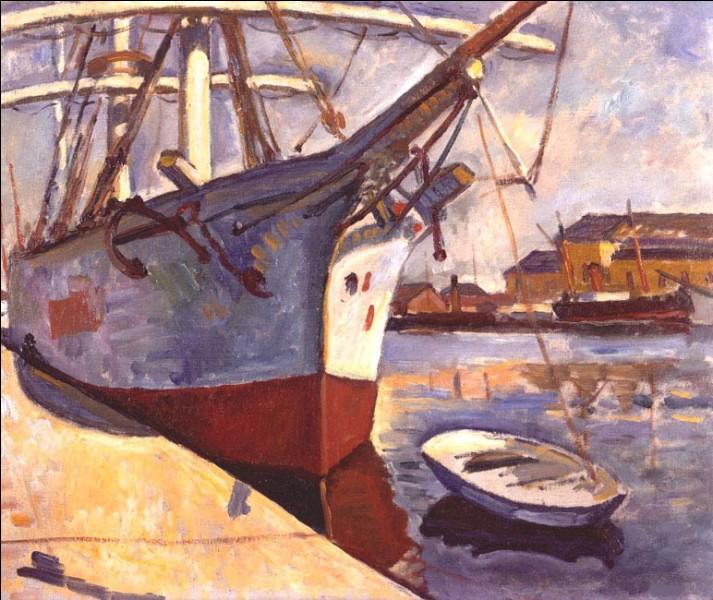 """À qui appartient la toile """"Bateaux au Havre"""" ?"""