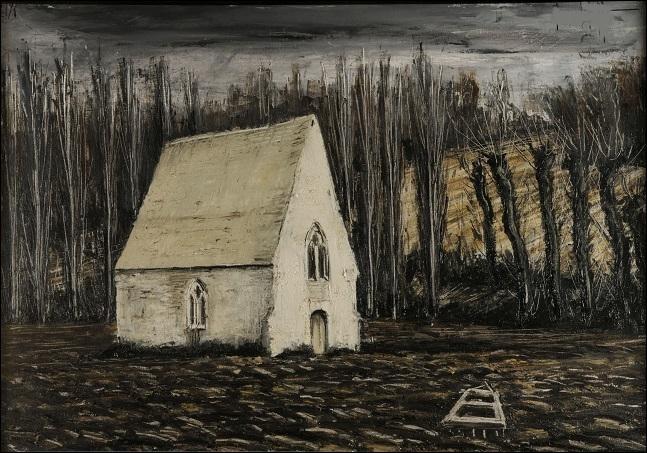 """Qui a peint """"La Chapelle - Saint-Céneri"""" ?"""