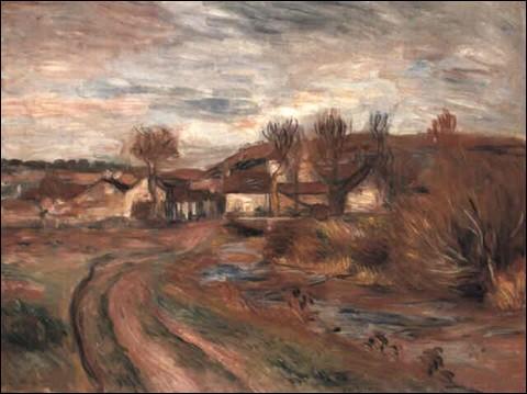 """Qui est le peintre de ce """"Paysage en Normandie"""" ?"""