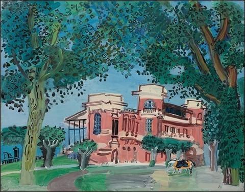 """Qui a peint """"Deauville, le paddock"""" ?"""