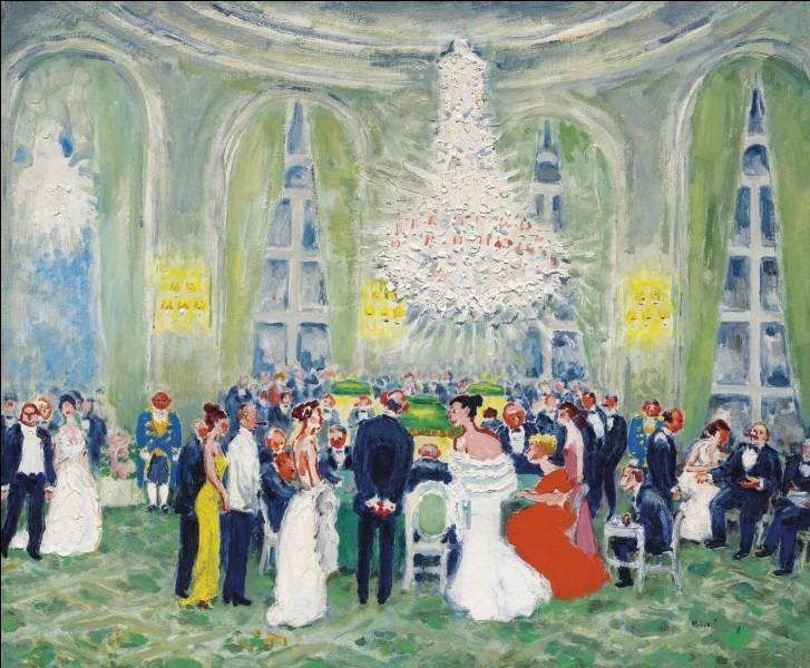 """Qui a peint """"Les Salons du casino à Deauville"""" ?"""