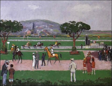 """Qui a peint """"Deauville le champ de courses"""" ?"""