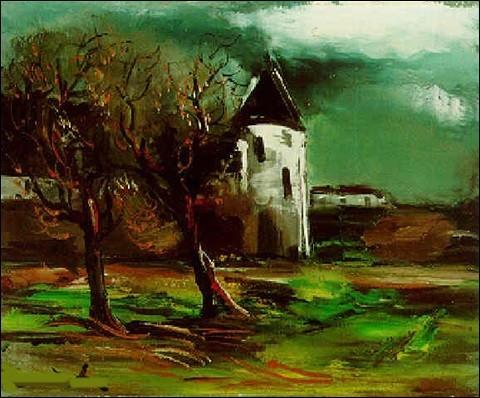 """Qui est le peintre de """"La Tour en Normandie"""" ?"""