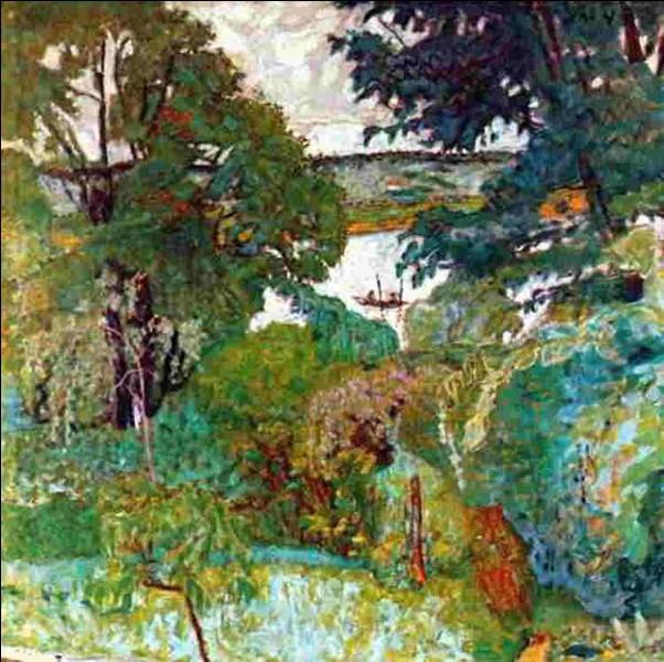 """Qui a peint """"La Seine à Vernon"""" ?"""