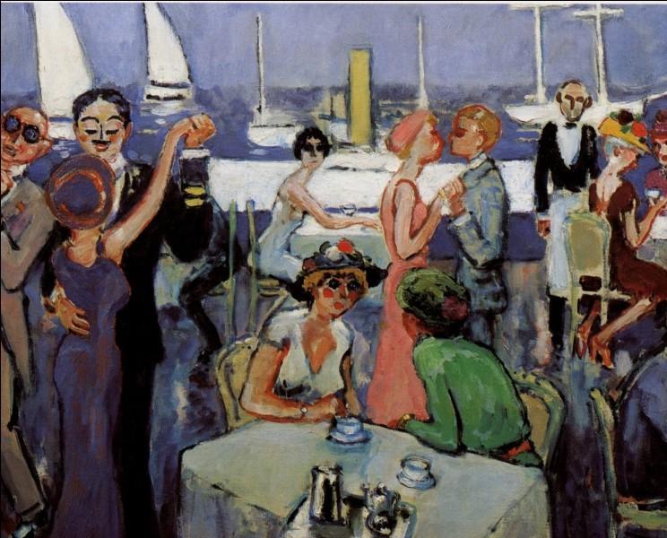 """Qui a peint le tableau intitulé """"Deauville"""" ?"""