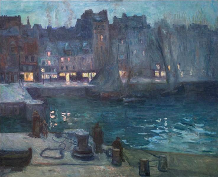 """Qui a représenté """"Le Vieux bassin du Havre"""" ?"""