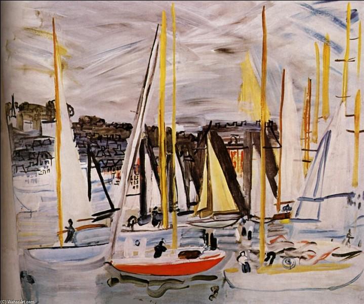 """Qui a peint """"Deauville, les bassins"""" ?"""