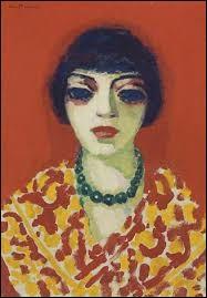 """Qui a peint """"La femme au collier vert"""" ?"""