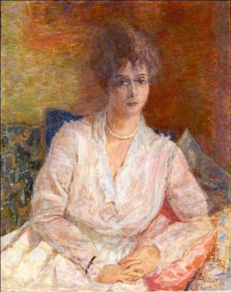"""Qui a représenté """"Madame Reine Thadée Natanson au collier de perles"""" ?"""