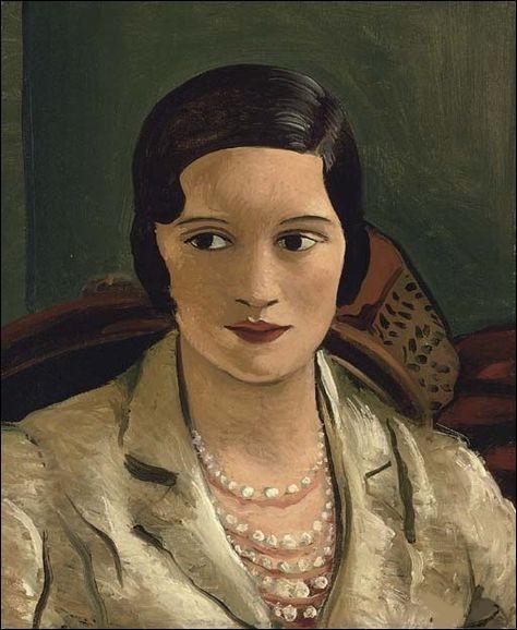 """Qui est l'auteur de ce """"Portrait de femme au collier"""" ?"""